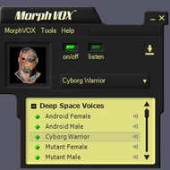 Deep Space Voices Add-on For MorphVOX screenshot